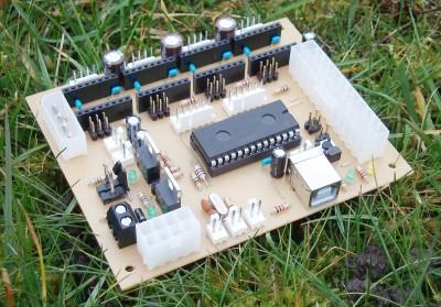 A Generation 7 Electronics v2.0 after assembly.