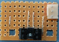 Insert the cable header. Mind the direction. Pins face to the border of the bord.