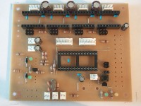 To complete with the KK256 parts, add in the 6-pin SPI headers. Here it's an even better idea to stick to the layout, as plug-ins for this header may also rely on this convention.
